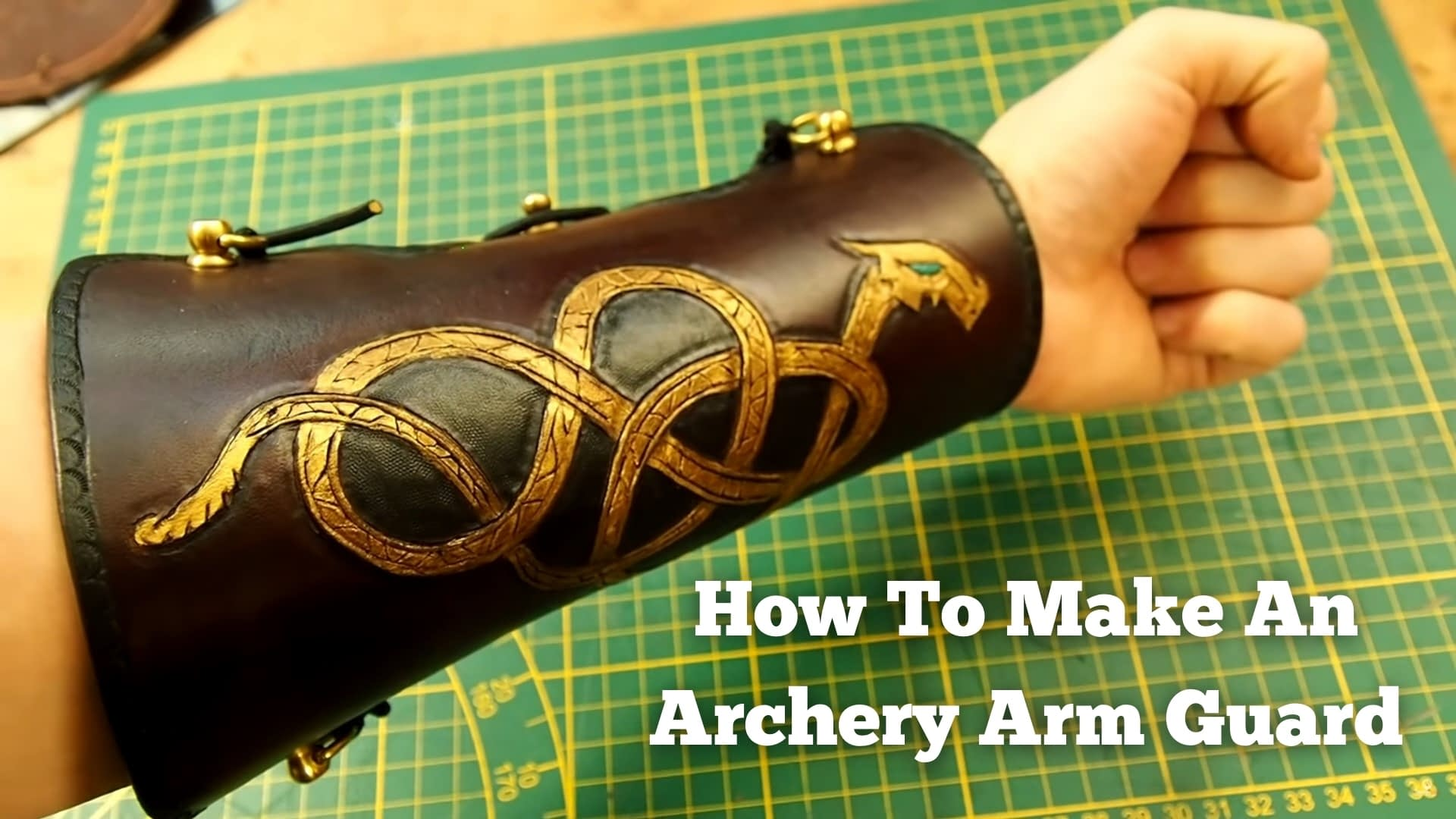 How To Make An Archery Arm Guard