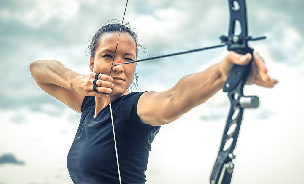 Eye dominance test for archery